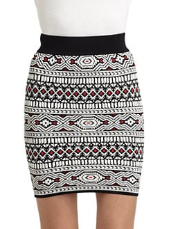 Torn - Celine Tribal-Print Skirt
