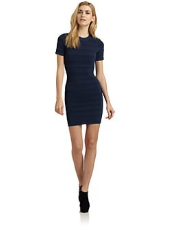 Torn - Candela Ribbed Knit Dress