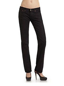 Jean Shop - Mid-Rise Denim Jeans