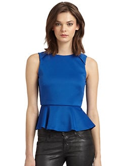 W118 by Walter Baker - Nicholas Sleeveless Peplum Top