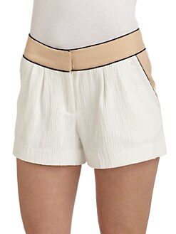 W118 by Walter Baker - Rhett Colorblock Textured Shorts