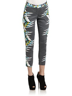 W118 by Walter Baker - John Ryan Graphic-Print Pants
