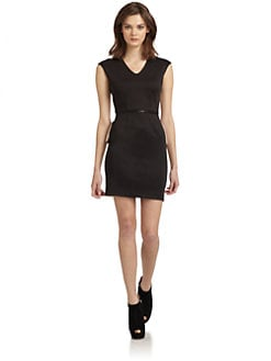 W118 by Walter Baker - Cole Two-Tone Sheath Dress