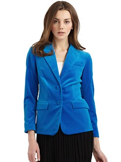 Halston Heritage - Velvet Blazer