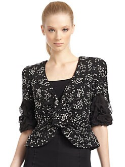 Giorgio Armani - Silk Beaded Jacket