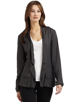 Twenty8Twelve - Fluid Twill Blazer