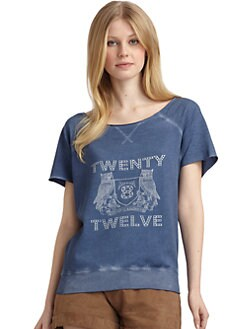 Twenty8Twelve - Rydell Logo Sweatshirt/Blue