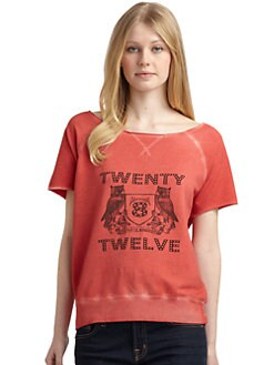 Twenty8Twelve - Rydell Logo Sweatshirt/Red