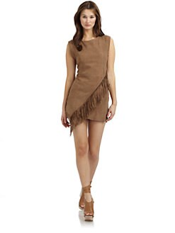 Twenty8Twelve - Tippi Suede Fringe Dress