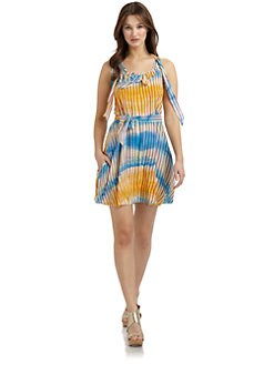 Twenty8Twelve - Toddington Striped Tie Dyed Dress