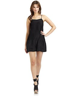 Twenty8Twelve - Chloe Camisole Silk Dress/Black