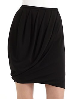 Josie Natori - Pleated Jersey Skirt