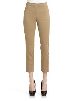 Cacharel - Twill Cropped Pants