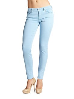 7 For All Mankind - Gwenevere Colored Skinny Jeans