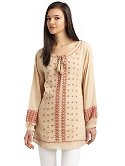 Love Sam - Beaded & Embroidered Tunic