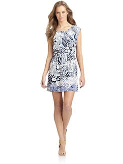 Rebecca Minkoff - Dune Abstract Animal Dress