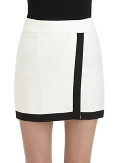 Pippa - Faux-Wrap Skirt