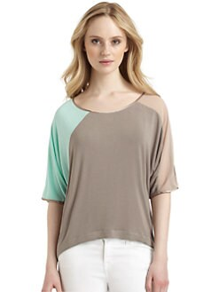 Qi New York - Elizaveta Colorblock Tee