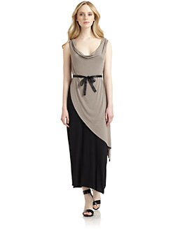 Qi New York - Dominika Tie-Waist Dress