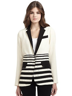 Nanette Lepore - Ginseng Striped Blazer