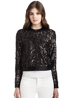 Nanette Lepore - Dynasty Sequin Jacket