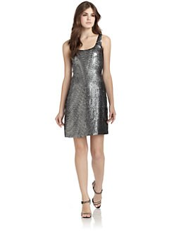 Rebecca Taylor - Sequined Tank Dress