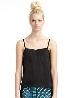 10 Crosby Derek Lam - Crepe Hi-Lo Camisole