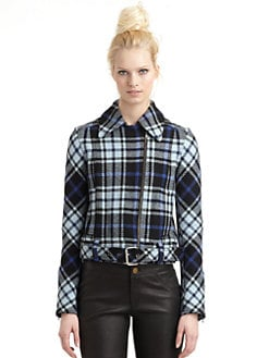 10 Crosby Derek Lam - Plaid Buckle Coat