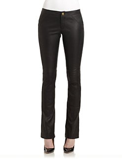 10 Crosby Derek Lam - Seamed Leather Pants