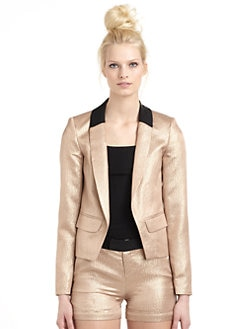 10 Crosby Derek Lam - Metallic Blazer