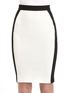 10 Crosby Derek Lam - Colorblock Pencil Skirt
