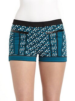 10 Crosby Derek Lam - Abstract Chainlink Shorts