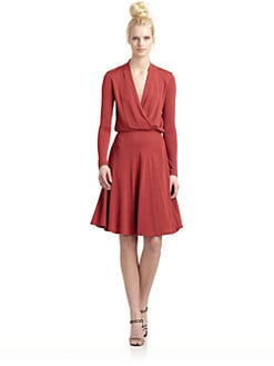 10 Crosby Derek Lam - Surplice Neck Dress