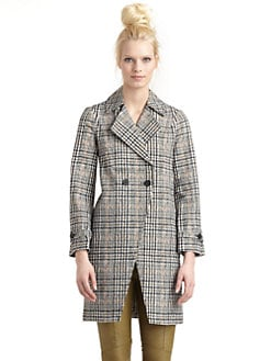 10 Crosby Derek Lam - Cotton Houndstooth Jacket