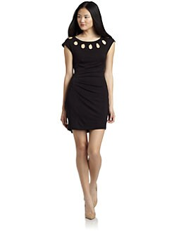 Catherine Malandrino - Cutout Neck Dress