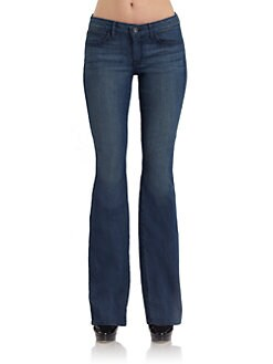 Rich and Skinny - Medium Wash Wedge Bootcut Jeans
