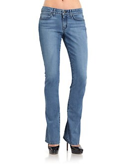 Rich and Skinny - Wedge Bootcut Faded Jeans