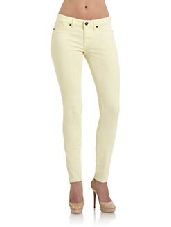 Rich and Skinny - Yellow Foam Dye Skinny Jeans