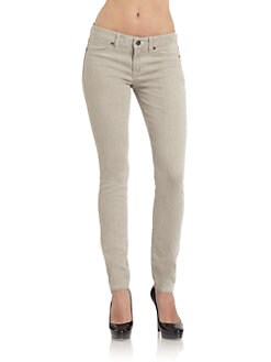 Rich and Skinny - Grey Foam Dye Skinny Jeans
