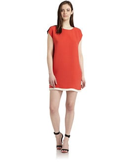 Joie - Nixon Colorblock Silk Dress