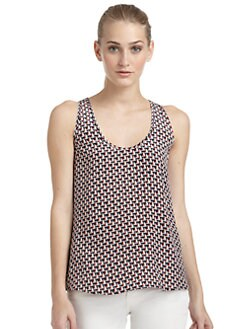 Joie - Cedric Nautical Boat Silk Tank Top