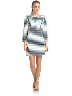 Joie - Winberry Striped Cotton Dress