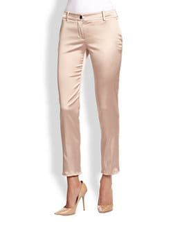 D&G - Cropped Satin Trousers