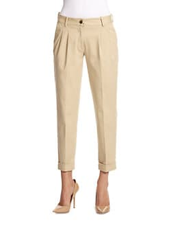 D&G - Cropped Chino Pants