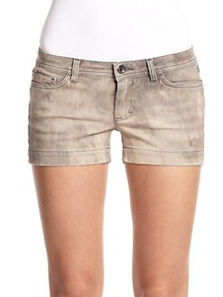 Dolce & Gabbana - Distressed Denim Shorts