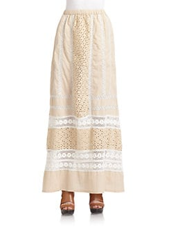 Love Sam - Eyelet & Lace Skirt