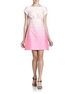 Ted Baker - Tonal Striped Dress