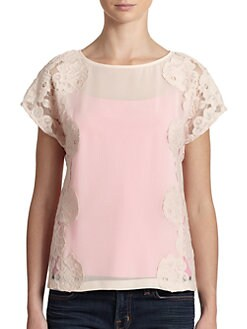 Ted Baker - Lace-Detail Top