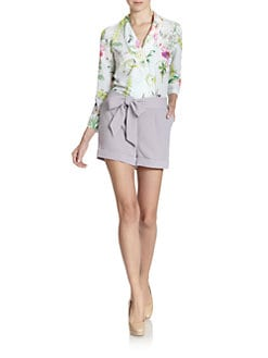 Ted Baker - Wallpaper Floral-Print Short Jumpsuit