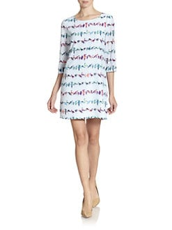 Ted Baker - Tutti Fruiti Printed Shift Dress